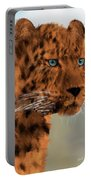 Leopard - Featured In The Group Wildlife Portable Battery Charger
