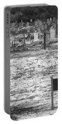Leper Graveyard On Robben Island Portable Battery Charger