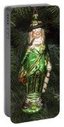Leprechaun Christmas Ornament Portable Battery Charger