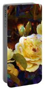 Les Roses Sauvages Portable Battery Charger