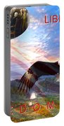 Liberty And Freedom Portable Battery Charger