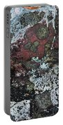 Lichen Abstract II Portable Battery Charger
