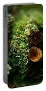 Lichen And Fungi 1 Portable Battery Charger