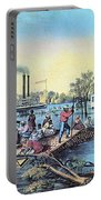 Life On The Mississippi, 1868 Portable Battery Charger