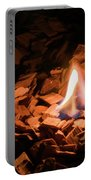 Light Of Fire Creates Coziness ... Portable Battery Charger