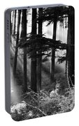 Light Through The Trees Portable Battery Charger