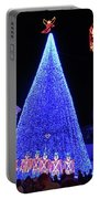 Lighted Xmas Tree Walt Disney World Portable Battery Charger