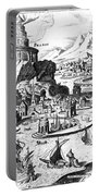 Lighthouse Of Alexandria Portable Battery Charger
