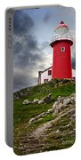 Lighthouse On Hill Portable Battery Charger