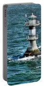 Lighthouse On The Blue Sea Portable Battery Charger