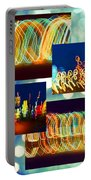 Lightshow Collage Portable Battery Charger
