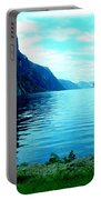 Ligth Fjord Norway Portable Battery Charger