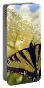 Swallowtail Lilac Spring Photo Portable Battery Charger