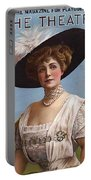Lillian Russell On Cover Portable Battery Charger