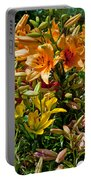 Lily Garden Bouquet  Portable Battery Charger