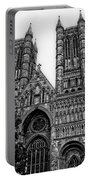 Lincoln Cathedral Facade Portable Battery Charger
