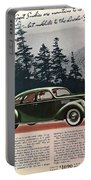 Lincoln Zephyr 1936 Portable Battery Charger
