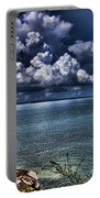 Lingering Clouds Portable Battery Charger