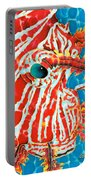 Lion Fish Face Portable Battery Charger