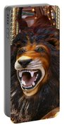Lion Merry Go Round Animal Portable Battery Charger