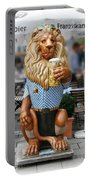 Lion Of Beer Portable Battery Charger