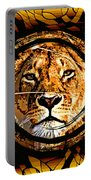 Lioness Face Portable Battery Charger