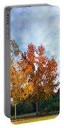 Liquid Amber Trees Portable Battery Charger
