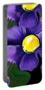 Liquid Violets Portable Battery Charger