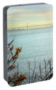 Lisbon On The Horizon Portable Battery Charger