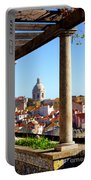 Lisbon View Portable Battery Charger by Carlos Caetano