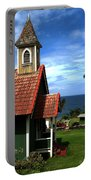 Little Green Church In Hawaii Portable Battery Charger