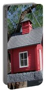 Little Red Birdhouse Portable Battery Charger
