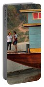 Living On The Mekong Portable Battery Charger
