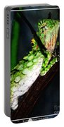 Lizard With Oil Painting Effect Portable Battery Charger