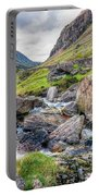 Llanberis Pass Portable Battery Charger by Adrian Evans