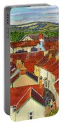 Painting Llandovery Roof Tops Portable Battery Charger