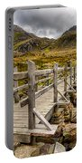 Llyn Idwal Bridge Portable Battery Charger by Adrian Evans