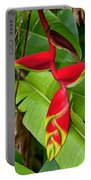 Lobster Claw Heliconia Portable Battery Charger