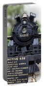 Locomotive 639 Type 2 8 2 Front View Portable Battery Charger