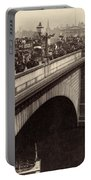 London Bridge - England - C 1896 Portable Battery Charger by International  Images