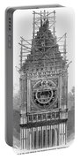 London: Clock Tower, 1856 Portable Battery Charger