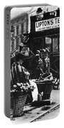 London: Flower Girl, C1900 Portable Battery Charger