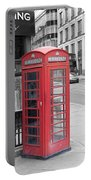 London Phone Box Portable Battery Charger