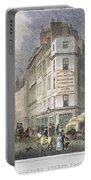 London: Street Scene, 1830 Portable Battery Charger