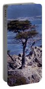 Lone Cypress By The Sea Portable Battery Charger