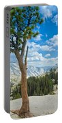 Lone Pine At Half Dome Portable Battery Charger