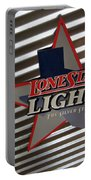 Lone Star Beer Light Portable Battery Charger