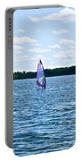 Lone Wind Surfer Portable Battery Charger