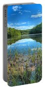 Long Branch Marsh Portable Battery Charger by Adam Jewell