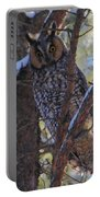 Long-eared Owl Portable Battery Charger